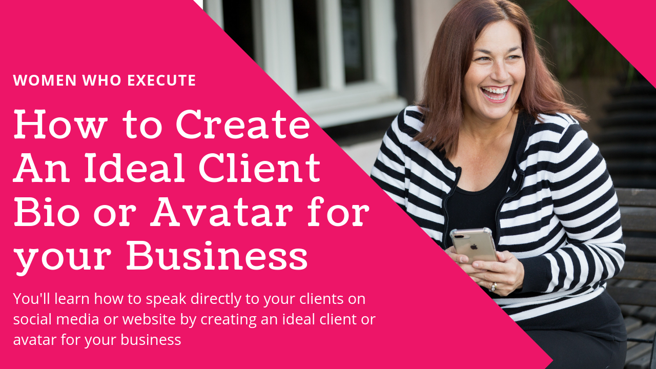 How to find your ideal client or avatar