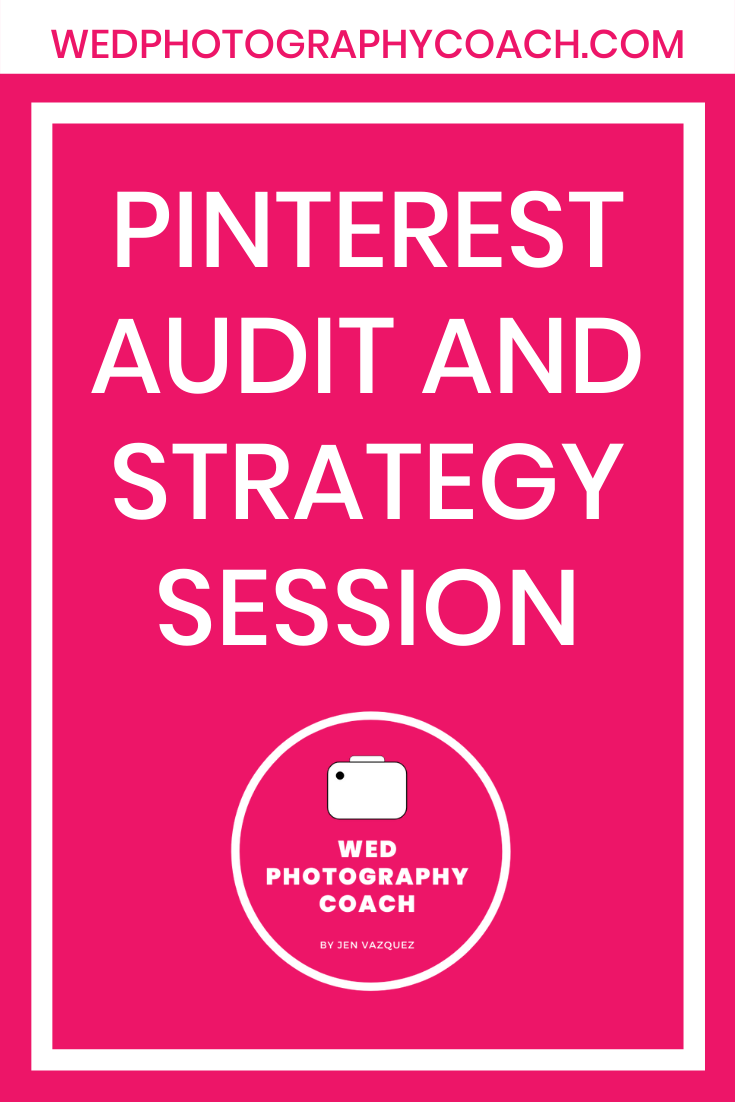 Pinterest Audit and Strategy Session 1