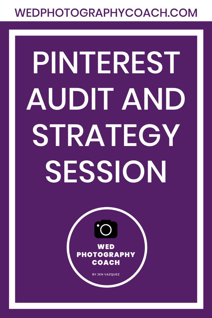 Pinterest Audit and Strategy Session 2