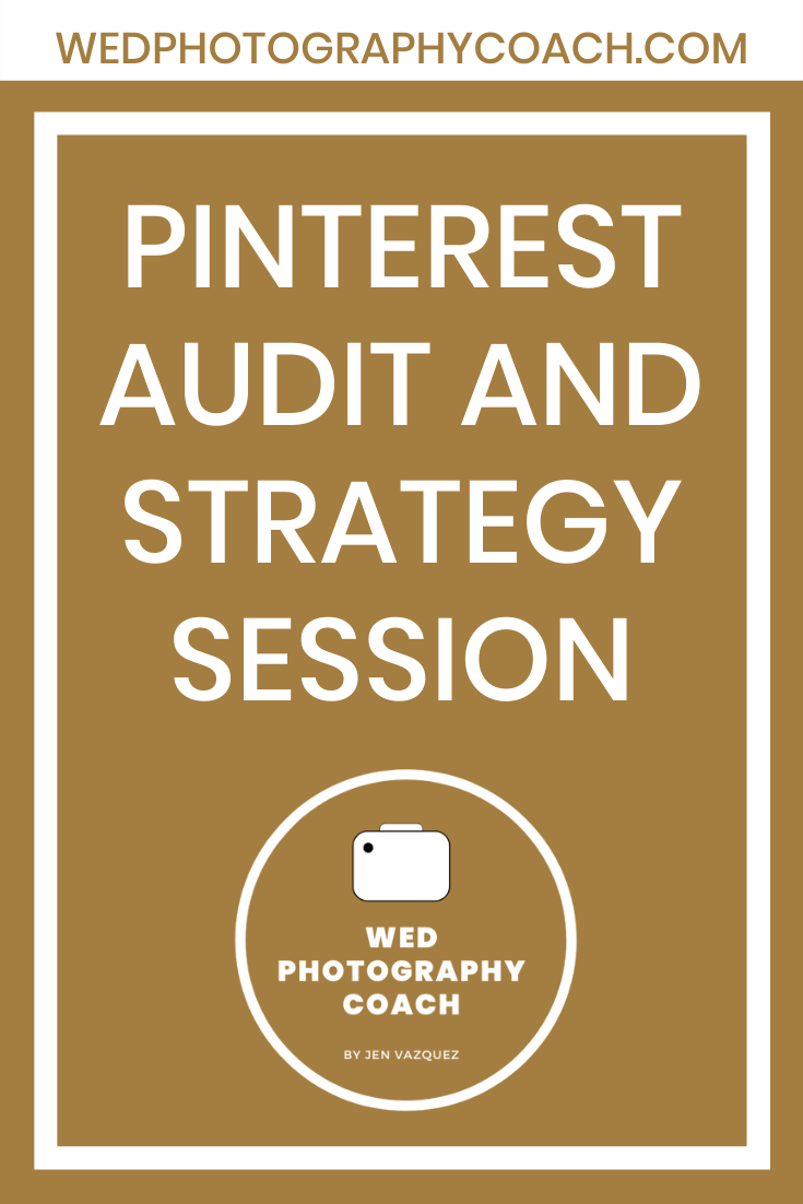 Pinterest Audit and Strategy Session 3