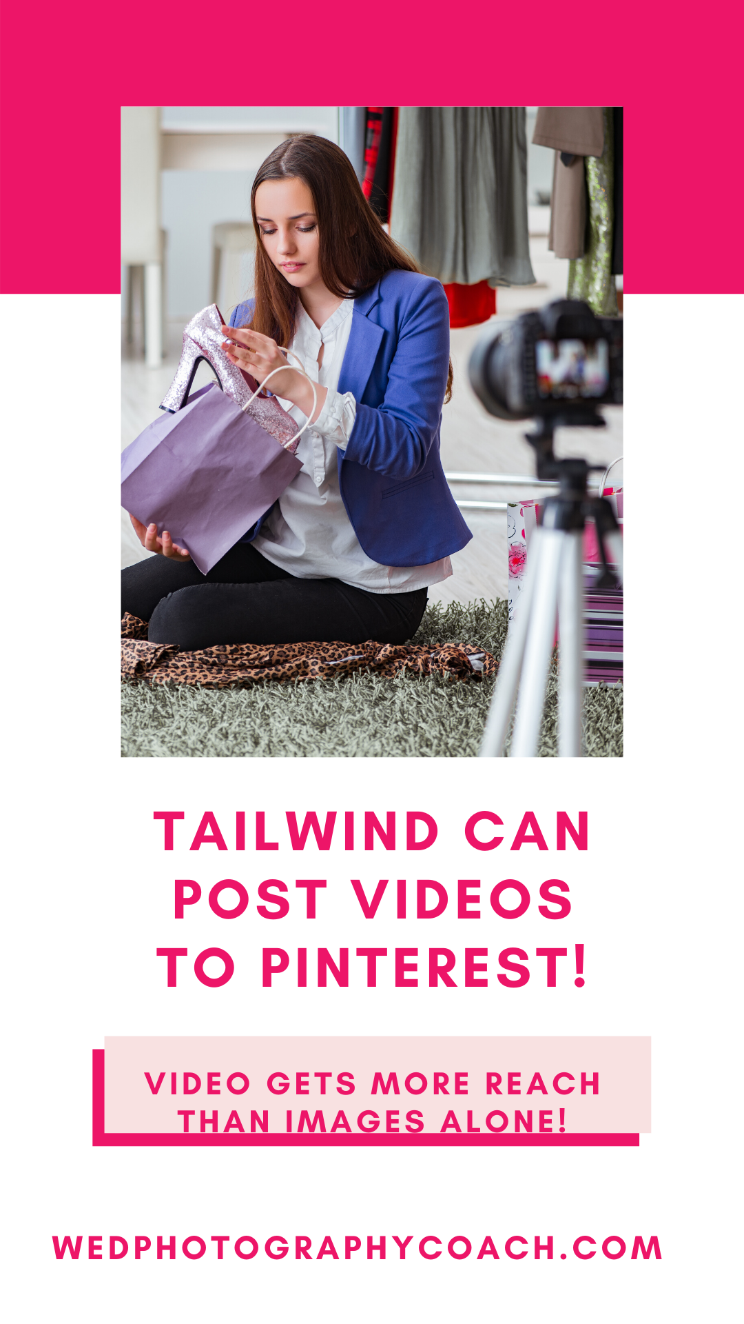 You can post videos with Tailwind!