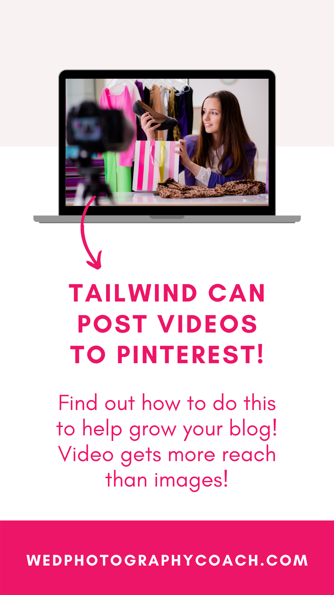 You can post videos with Tailwind! 5