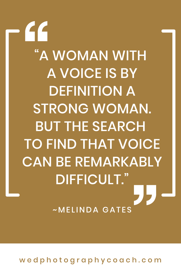 A woman with a voice is by definition a strong woman. But the search to find that voice can be remarkably difficult