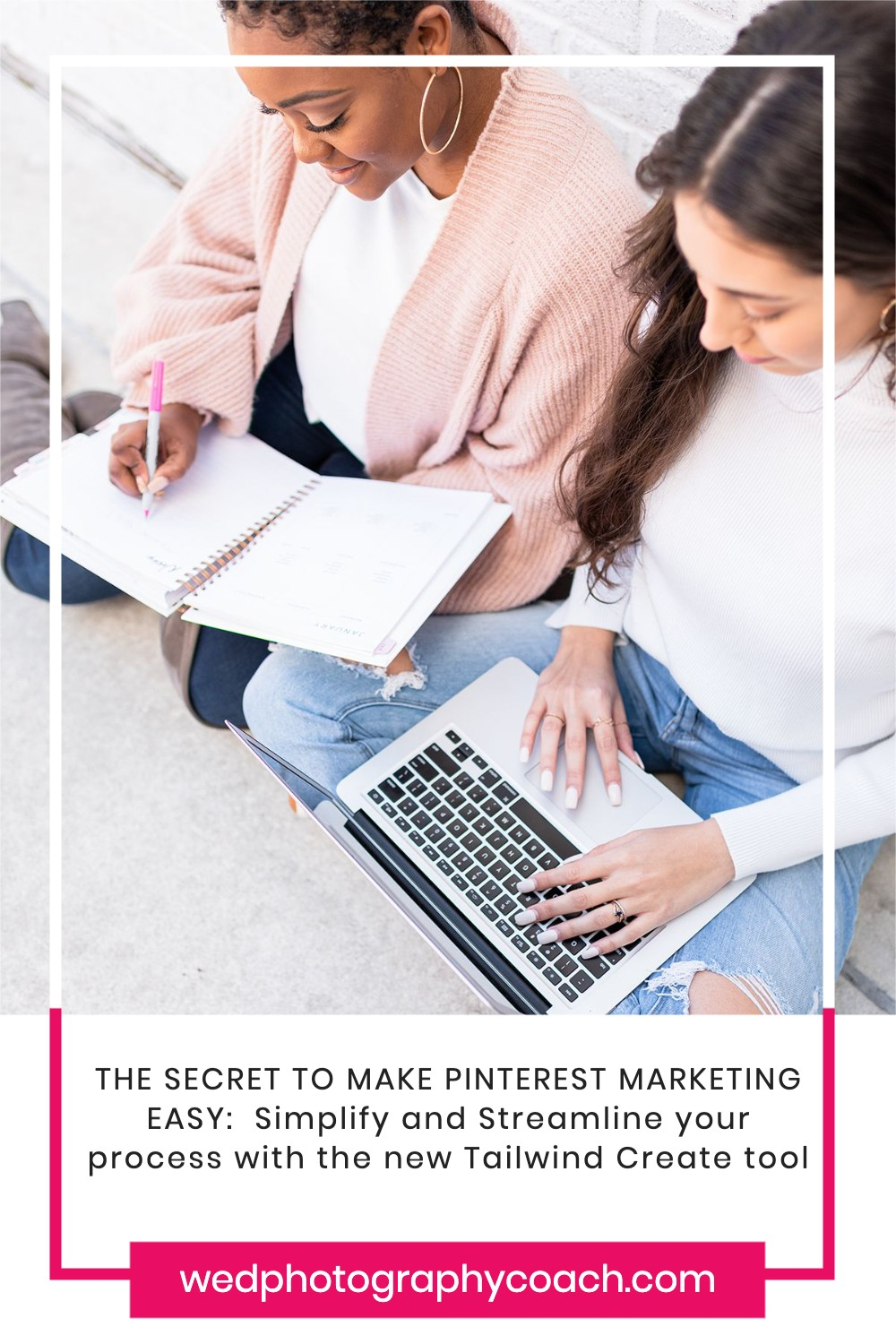 THE SECRET TO MAKE PINTEREST MARKETING EASY:  Simplify and Streamline your process with the new Tailwind Create.  This is how easy it is.  Read or watch the video to learn all about it.