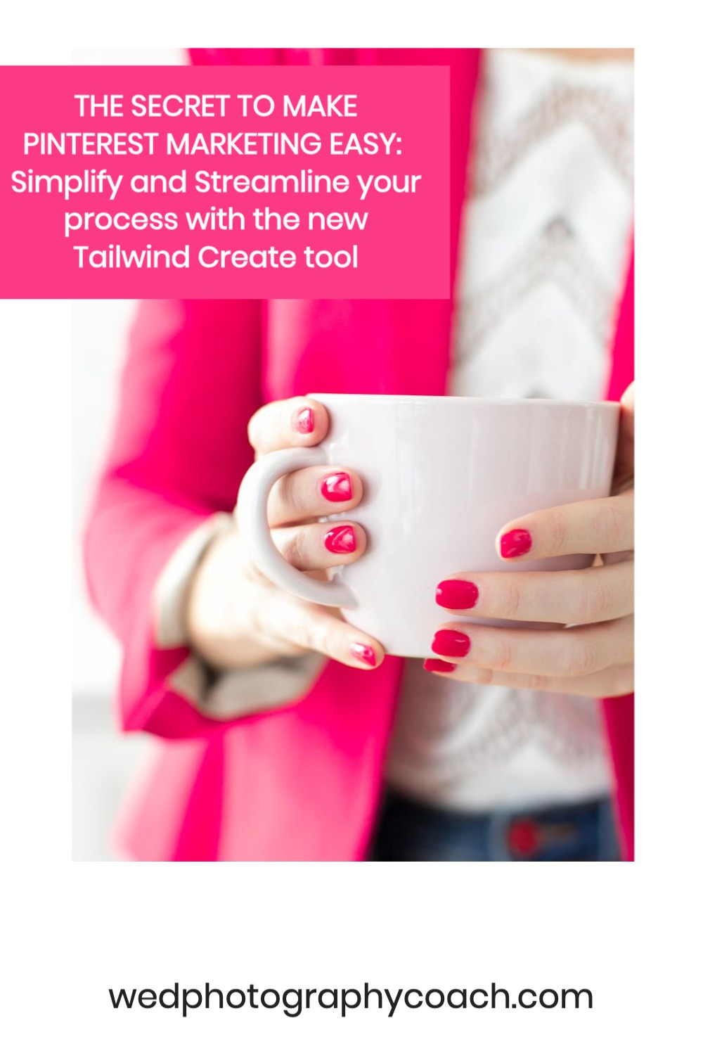 Simplify and Streamline your process with the new Tailwind Create.  THE SECRET TO MAKE PINTEREST MARKETING EASY