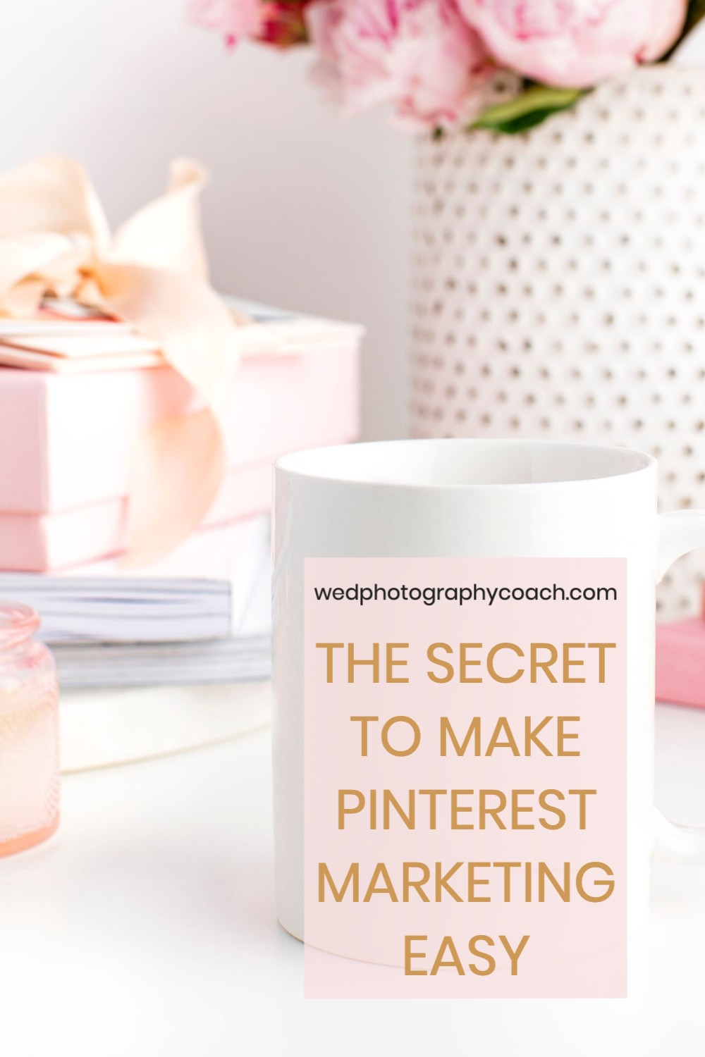THE SECRET TO MAKE PINTEREST MARKETING EASY:  Simplify and Streamline your process with the new Tailwind Create.  This is how easy it is
