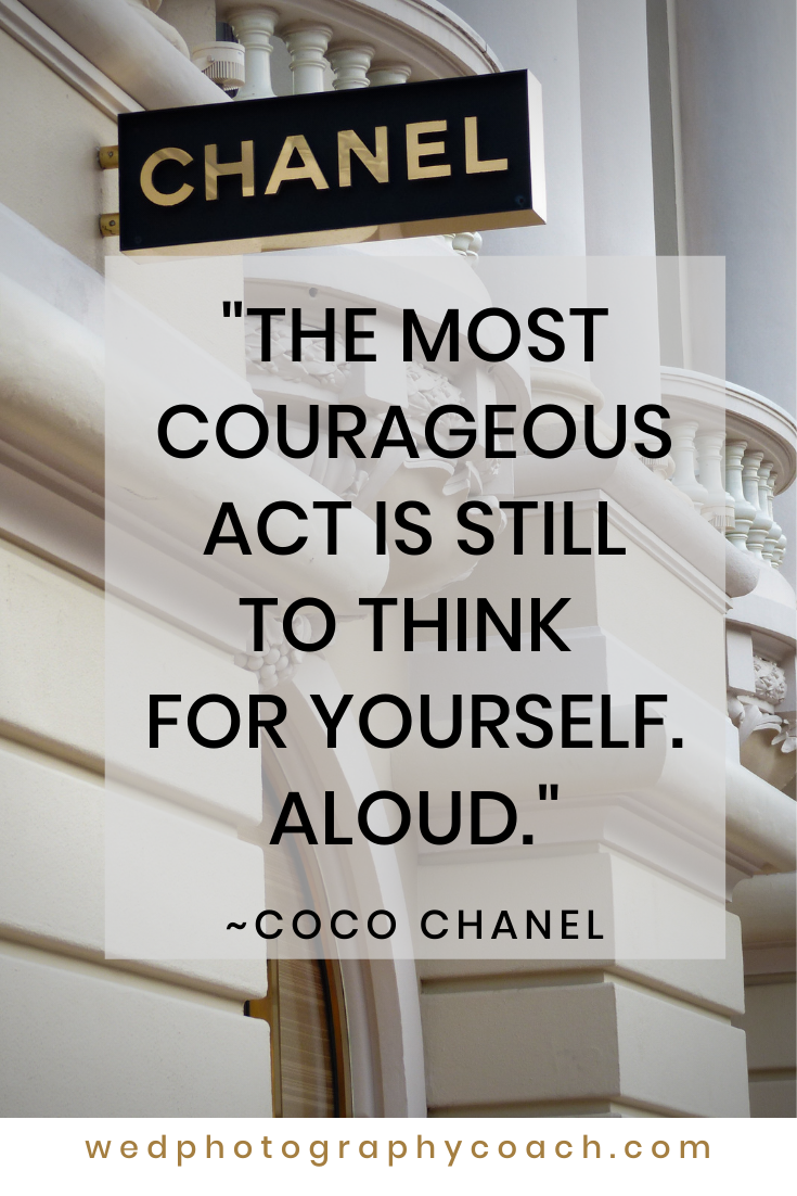 The most courageous act is still to think for yourself. Aloud